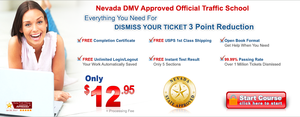 Nevada approved traffic school online